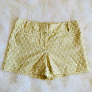 LOFT Great Condition Embroidered Shorts Size 4